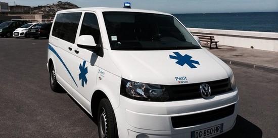 Ambulance la timone transporter
